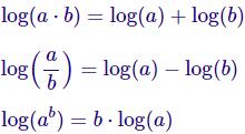 Ejercicios resueltos de aplicación de las propiedades de los logaritmos